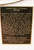 Image for President Robert L. D. Davidson - Westminster College, Fulton, MO
