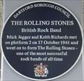 Image for Mick Jagger and Keith Richards - Dartford Station, Dartford, Kent, UK.