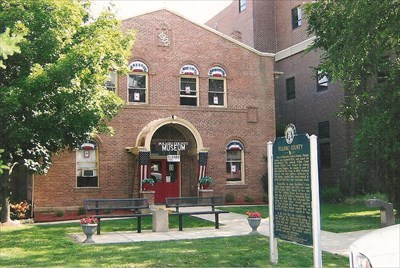 courthouse, now museum