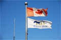 Image for Maple Ave Fire/EMS Station Flag - Halton Hills, Ontario
