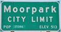 Image for Moorpark, California ~ Population 37,086