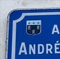 Image for Blason sur panneau Avenue André Malraux - Tours, France