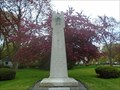 Image for Ridgetown War Memorial - Ridgetown, Ontario