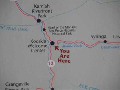 Kooskia Idaho You Are Here Maps On Waymarking Com