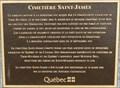 Image for Plaque du Cimetière Saint-James - Saint-James Cemetery Plaque - Trois-Rivières, Québec