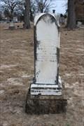 Image for Sallie B. Bowman - Deep Creek Cemetery - Boyd, TX