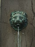 Image for Lion Heads at the Schuckhardt-Brunnen - Bad Nauheim, Hessen, Germany