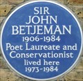 Image for John Betjeman - Radnor Walk, London, UK