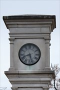 Image for Janssen Park Clock Tower -- Mena AR