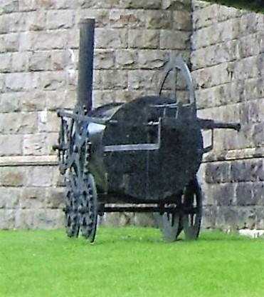 Penydarren Locomotive - Carfarthfa Park