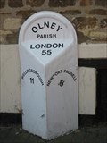 Image for Olney High Street Mile Stone