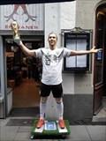 """Image for Report """"Poldi am Alter Markt - Hier erhält Podolski eine Statue in der Kölner Altstadt"""" - Köln, NRW, Germany"""
