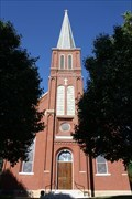 Image for St. Vincent de Paul Catholic Church Steeple - Dutzow, MO