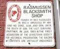 Image for Rasmussen Blacksmith Shop ~ Lewistown, IL