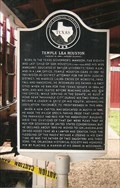 Image for Temple Lea Houston Memorial - Panhandle, TX