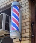 Image for John's Barber Shop Pole  -  Pontiac, IL