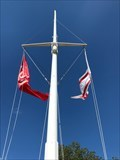 Image for Nautical Flag pole - Harbor Faldsled, Denmark