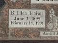 Image for 100 - B. Ellen Denison Phillips - Farmington City Cemetery - Farmington, UT