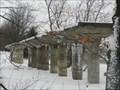 Image for Les piliers de la Poudrière de Drummondville, Qc, Canada