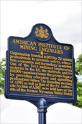 Image for American Institute of Mining Engineers - Wilkes-Barre, PA
