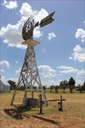 Image for Eclipse Windmill -- Snyder Heritage Village,  Snyder TX