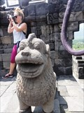 Image for Borobudur Temple Lions—Central Java, Indonesia