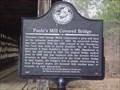 Image for Georgia Historical Marker - Poole's Mill Covered Bridge - Heardville, GA