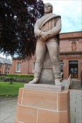 Image for Statue of Robert Burns Arbroath, Scotland.