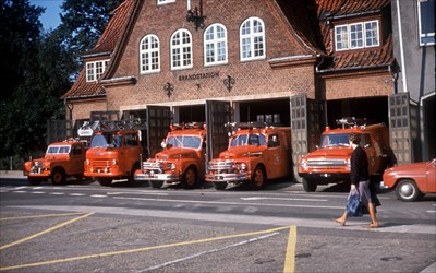 The fire station in the mid 60