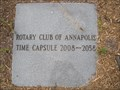 Image for Rotary Club of America Time Capsule  - Annapolis, MD