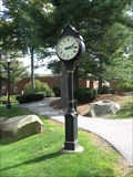Image for St. Anselm Clock, Manchester, New Hampshire