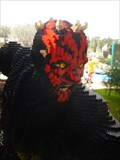 Image for Darth Maul - Star Wars - Legoland Florida. USA.