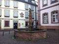 Image for Renaissance fountain of the town hall, Ribeauville, Haut-Rhin/FR