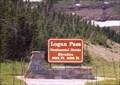 Image for Logan Pass - West Glacier MT Elevation 6646'