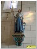Image for Jeanne d'Arc - Eglise Saint Martin et Notre Dame - Cruis, France