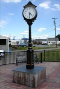 Image for Town Clock; Dillwyn, VA