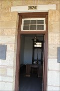 Image for Headquarters/Administration Building - 1876 -  Fort Concho, San Angelo TX