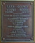 Image for Lake County Courthouse - 1935 - Polson, MT