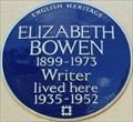 Image for Elizabeth Bowen - Clarence Terrace, London, UK