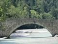 Image for Bogenbrücke über die Saalach, Schneizlreuth, Lk Berchtesgadener Land, Oberbayern, Deutschland