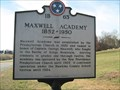 Image for Maxwell Academy - 1B 63