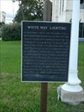 "Image for ""White Way"" Lighting - Seguin, Texas"