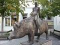 Image for Der Mensch und das Schwein - Gunzenhausen, Germany, BY