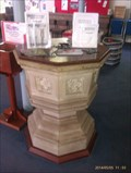 Image for Baptism Font, Holy Trinity Church - Ashby-de-la-Zouch, Leicestershire