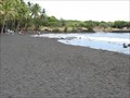 Image for Punaluu Black Sand Beach - Punaluu, Hawaii