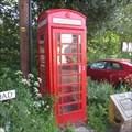 Image for Red Telephone Box - Tannadice, Angus.