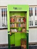 Image for The green telephone box - Prague, Czech Republic