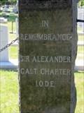 Image for Sir Alexander Galt - Lethbridge, Alberta