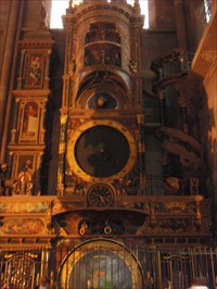 The Astronomical Clock of Strasbourg Cathedral