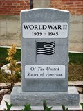 Image for World War II Memorial - Tooele, Utah